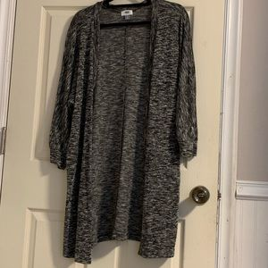 Other - Long charcoal colored cardigan